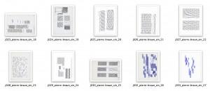 série sinusoïdes 1 (sélection)