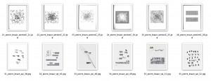 série trames et modules (sélection)
