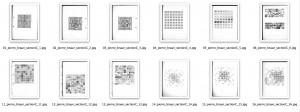 série trame et modules (sélection)